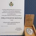 Önkormányzatunk dolgozója Inklovicsova Mónika a polgári védelemért az emberi élet -és vagyon védelme érdekében kifejtett kiemelkedő munkáját  a BM  Országos Katasztrófavédelmi Főigazgatóság Főigazgatója elismerésben részesítette!