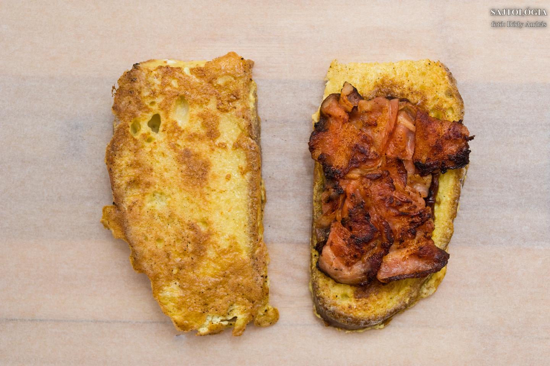 2. lépés: bacon!