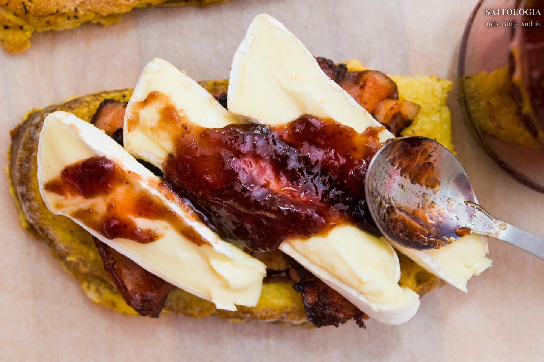 A sajtra is kenjünk egy kis lekvárt!