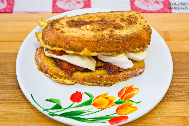 Kész a szendvics, jó étvágyat!