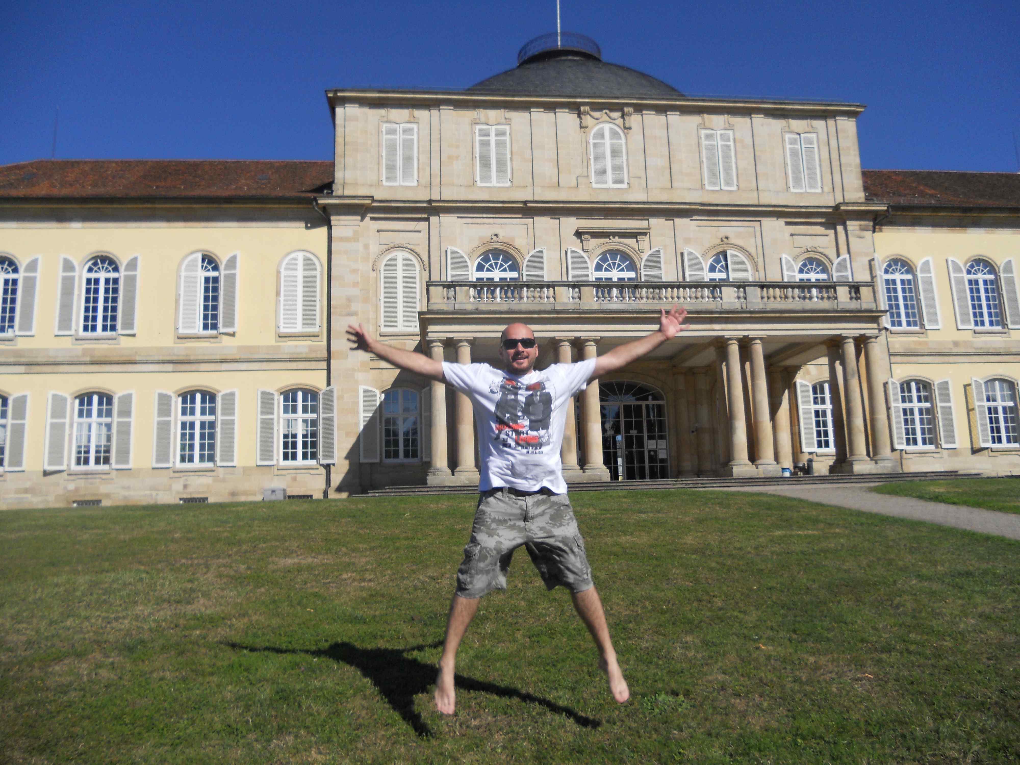 Hohenheimi egyetem kastélya