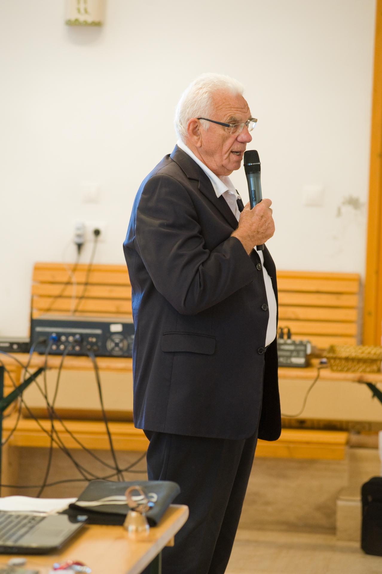 Kovács László, a KKASE- Sajtkészítők Egyesülete elnökének köszöntője