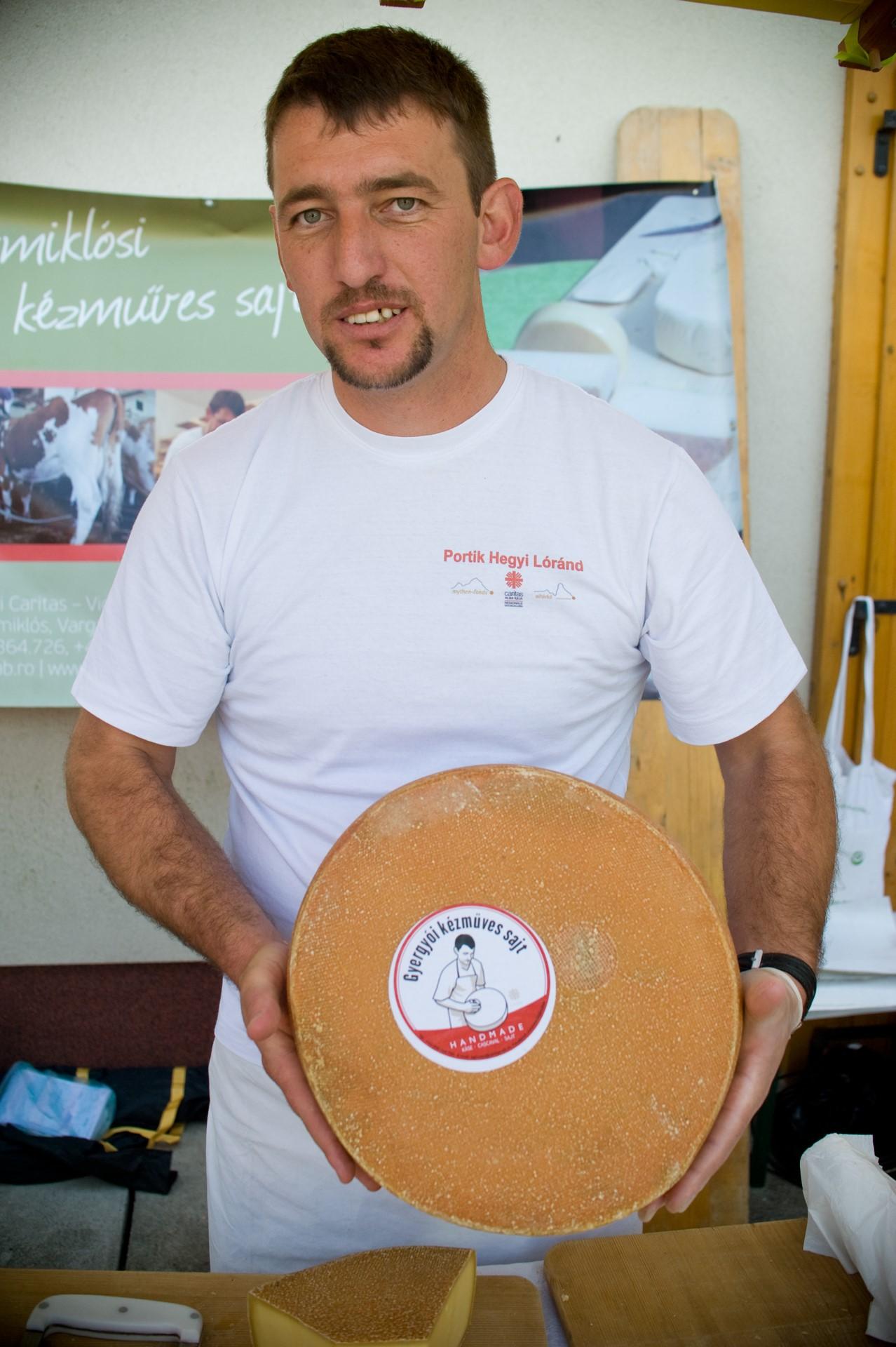 Portik Hegyi Loránd, Gyergyói kézműves sajt
