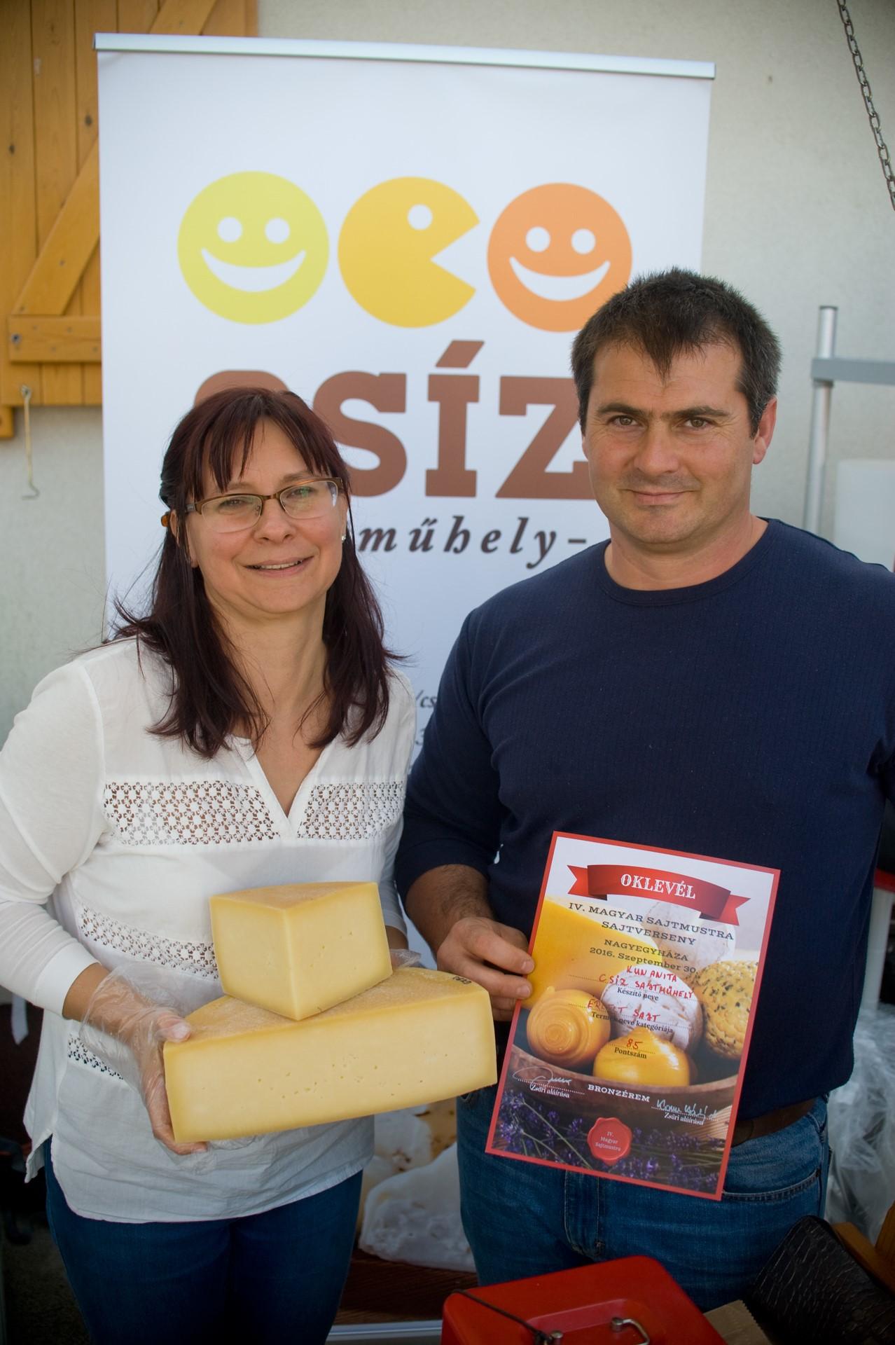 Csíz sajtműhely