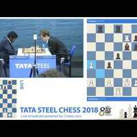 Magnus Carlsen - Baskaran Adhiban - Tata Steel Chess Video Masters (2018) Round 2