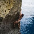 Gozo:bikinis mászás novemberben