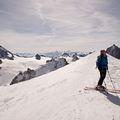 Vallée Blanche: 20 kilométeres lesiklás a Mont Blanc alatt