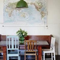 Térképészek kíméljenek, avagy DIY világtérkép a falon