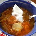 Savanyúkáposzta-leves
