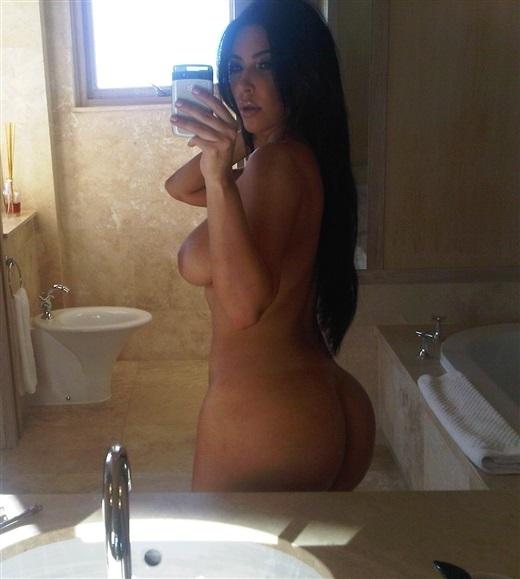 Nice Kim kardashian self nude messages something