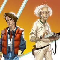 Az első trailer a Back to the Future játékból