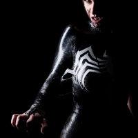 Méreg: kegyetlen jó Venom cosplay fotók