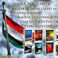8 magyar arany, 8 magyar könyv - akció a Galaktikabolton!
