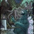 A nap képe: Godzilla vs Cthulhu