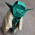 A nap képe: Origami-Yoda
