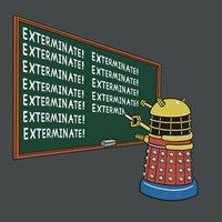 A nap képe: Dalek Bart sosem tanul