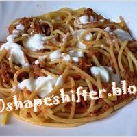 Tonhalas spagetti - 359 kcal