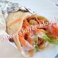 Csirkés tortilla joghurtöntettel - 375 kcal / tortilla tekercs