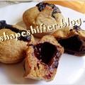Csokikrémmel töltött muffin - 69 kcal / db