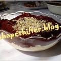 Túrós kifli csokiöntettel - 395 kcal / adag