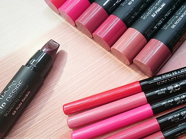 Telt, sötét ajkak: IsaDora Sculpt your lips! kollekció