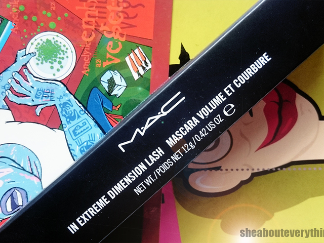 Black Extreme -  MAC In Extreme Dimension Lash szempillaspirál