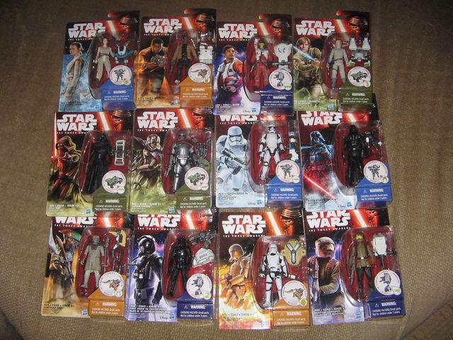 Star Wars akciófigurák: kiszivárgott fotók az új figurákról