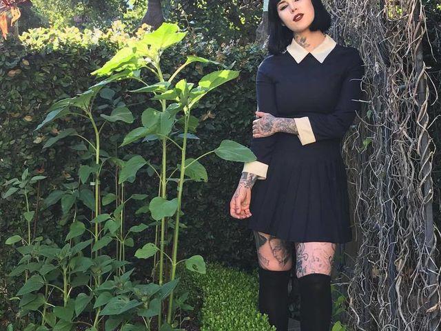 Kat Von D. és az ő fekete kertje