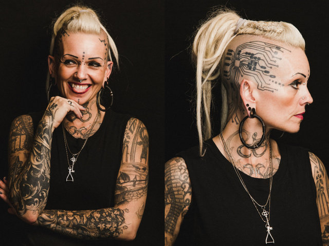 Testimplantátumok, piercingek és tetoválások - lenyűgöző fotósorozat