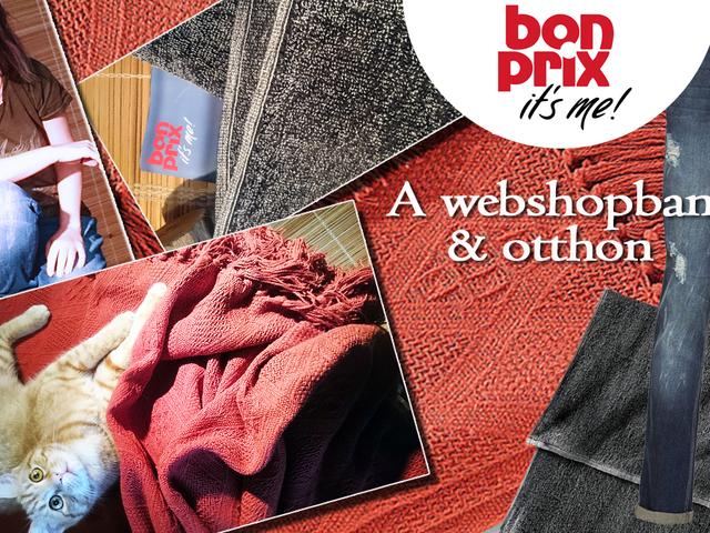 Bonprix: A webshopban & otthon