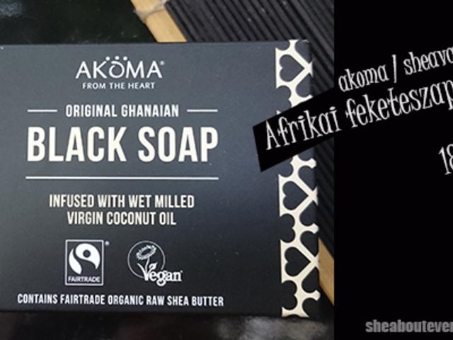 5 + 2 fekete szappan, amit érdemes lehet kipróbálnod