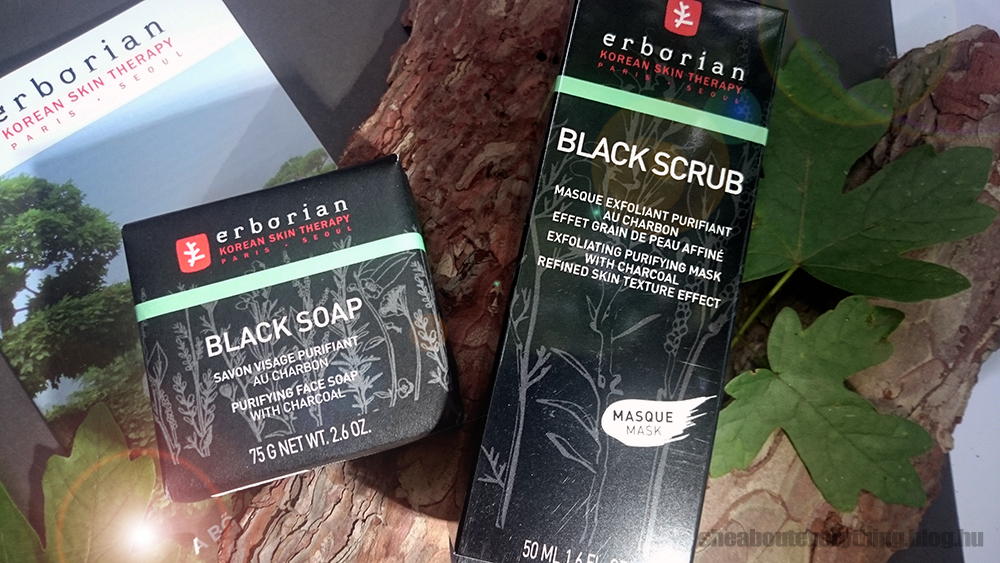 Bőrápolás: Erborian feketeségek