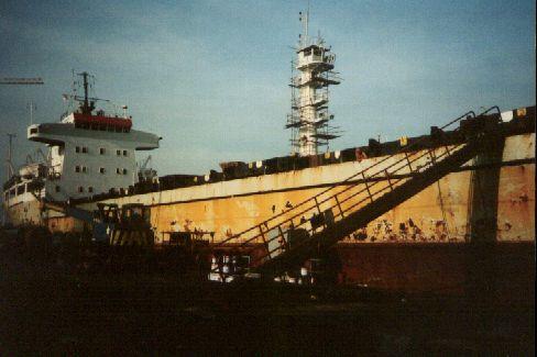 A Pancon 3 szingapúri hajógyárban