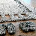 Papucs és szőnyeg is