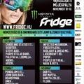 Nem elfelejteni: hétvégén FRIDGE-fesztivál!