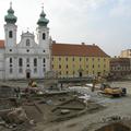 Vásároktól a tojásdobálásig - A győri Széchenyi tér története a középkortól napjainkig