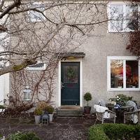 Svéd retro ház az 50-es évekből