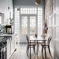 Vintage hangulatú svéd lakás