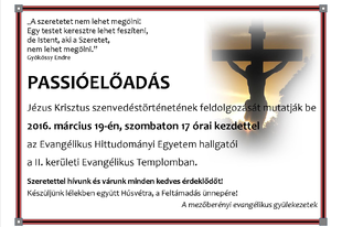 Teológuspassió 2016