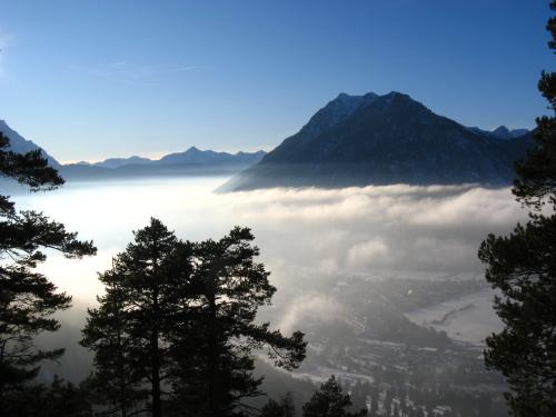 lied oben auf des berges spitze