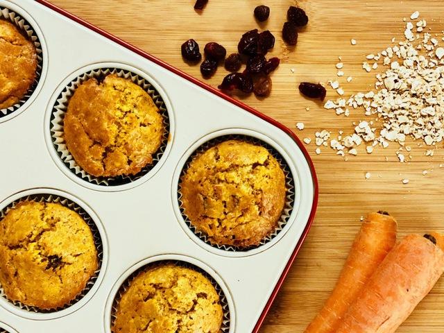 Répás zabpelyhes fitt muffin Smarta konyhájából
