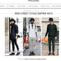 Hiphunters magazin oldalán - Dapper Hats