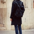◄ O U T F I T  2 0 1 4 .0 1 . 2 5  .  MY FAV NEOPRENE BACKPACK