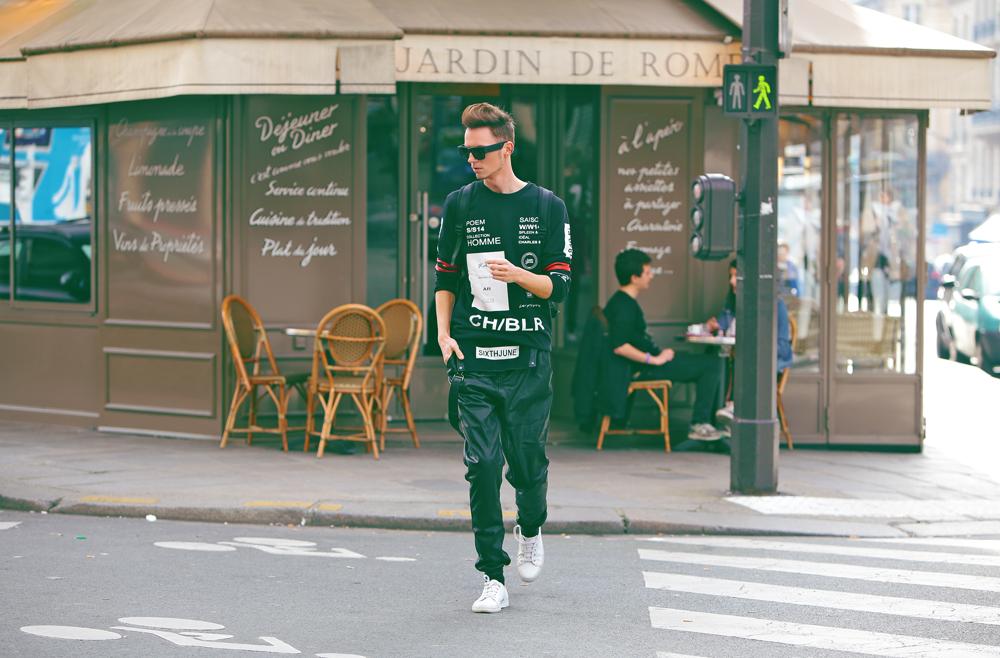 ◄ O U T F I T 2 0 1 5 . 0 4 . 2 2 . Cozy Black / Paris Fashion Week