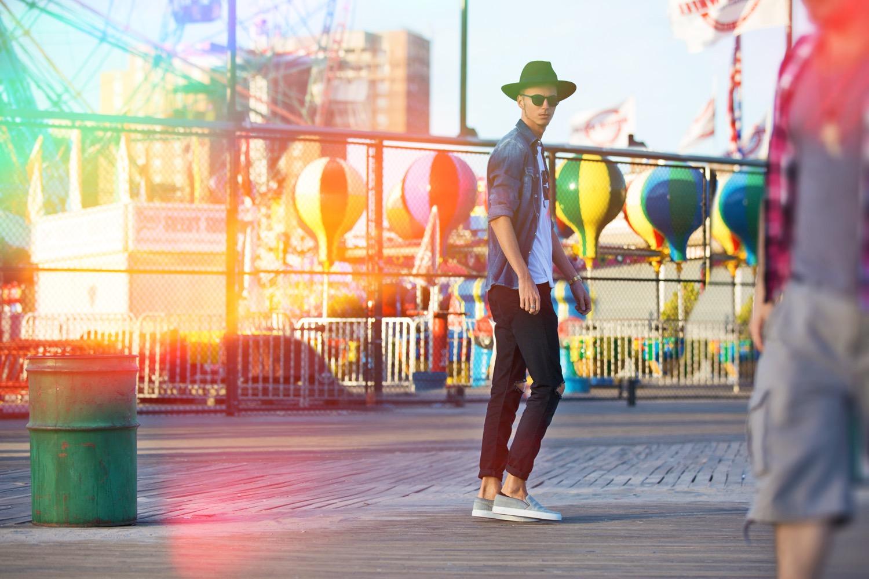 ◄ O U T F I T 2 0 1 5 . 1 1 . 12 . Luna Park in Coney Island -NYC
