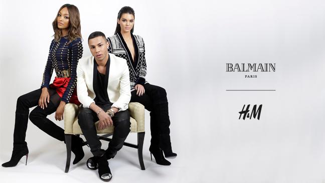 BALMAIN X H&M kollaboráció