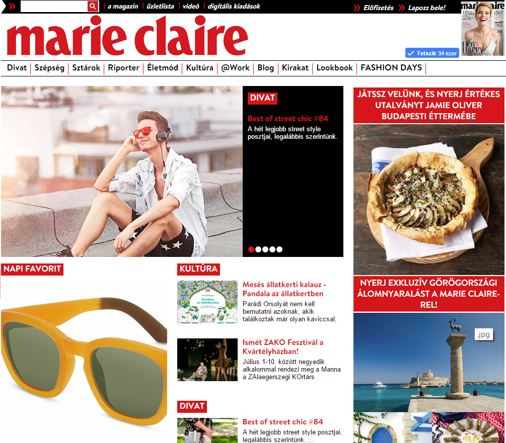 Best of street chic on Marie Claire