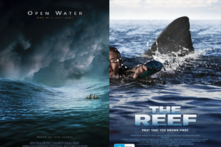 Double Feature: Nyílt tengeren / Open Water (2004) és A zátony / The Reef (2010)