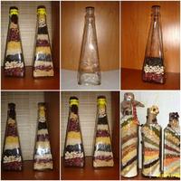 Dekoratív üvegek