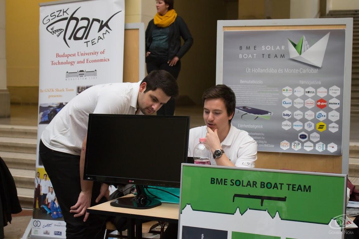 BME Solar Boat Team dolgozik